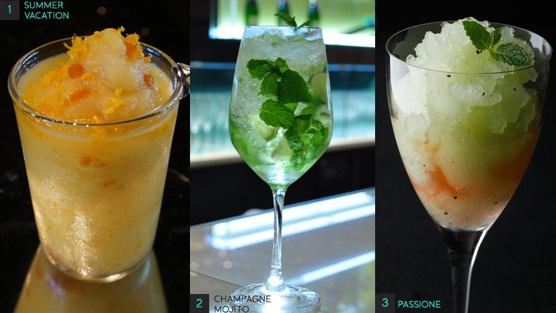 Cocktails 1-3