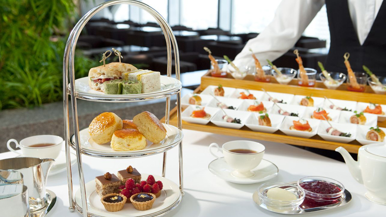 The Peak Lounge - Afternoon Tea and Finger Food platter cropped