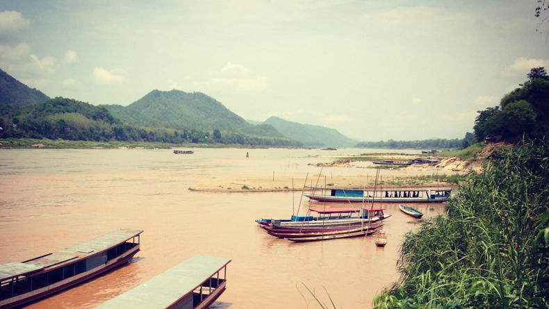 Boat Ride Mekong cropped