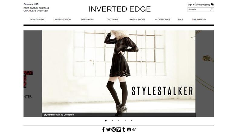 inverted edge