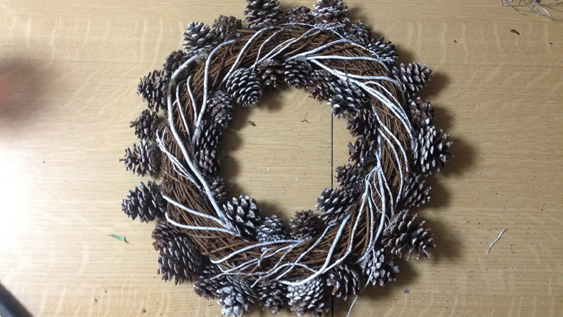wreath step 2.2