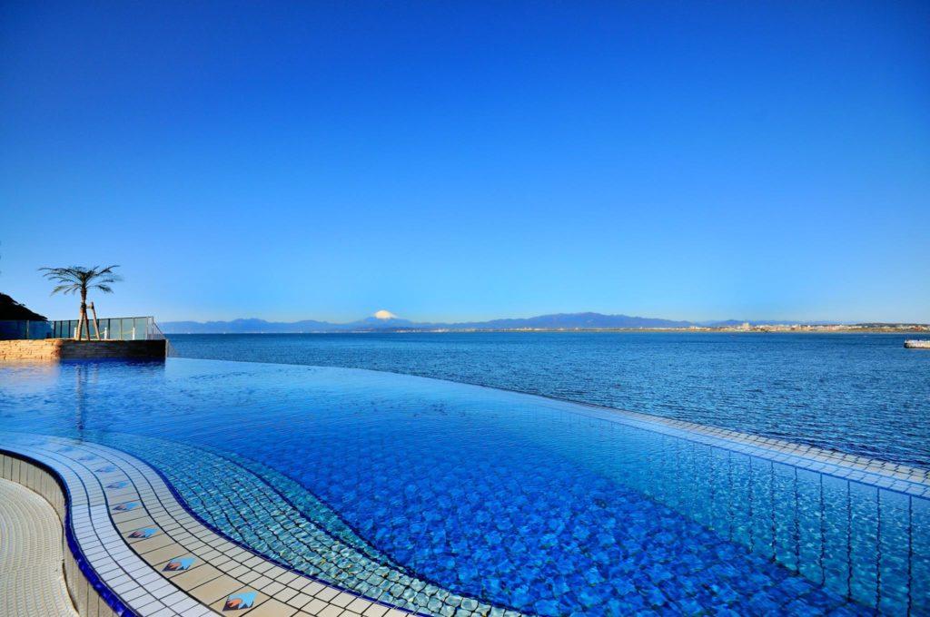 Enospa View of My Fuji Infinity Pool