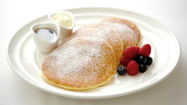 Lemon and Ricotta Pancakes cropped