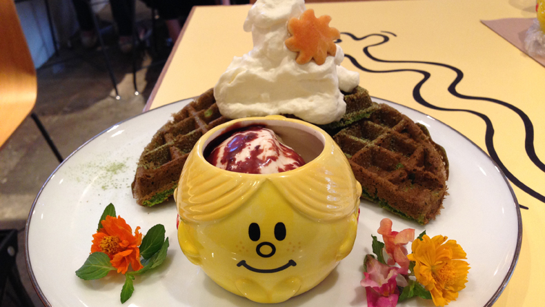 Little Miss Sunshine Waffles cropped