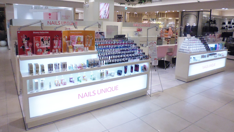 Nails Unique Pop-Up Shop, Omotesando - Savvy Tokyo