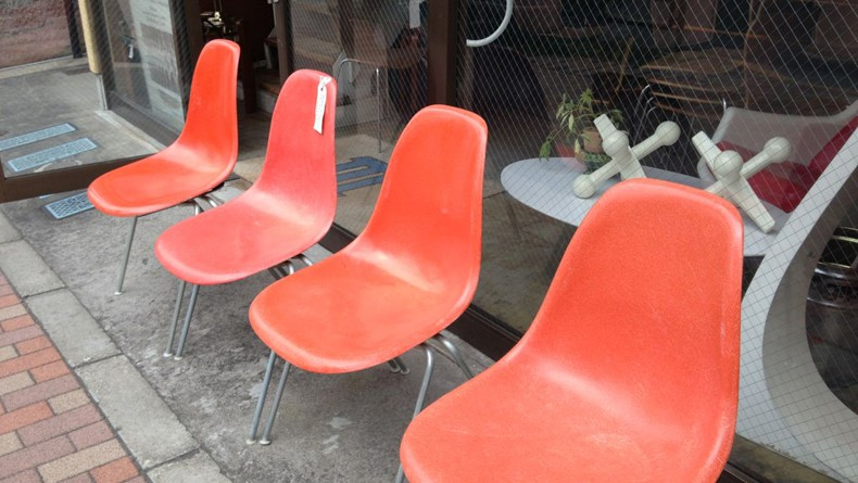 Orange chairs cropped