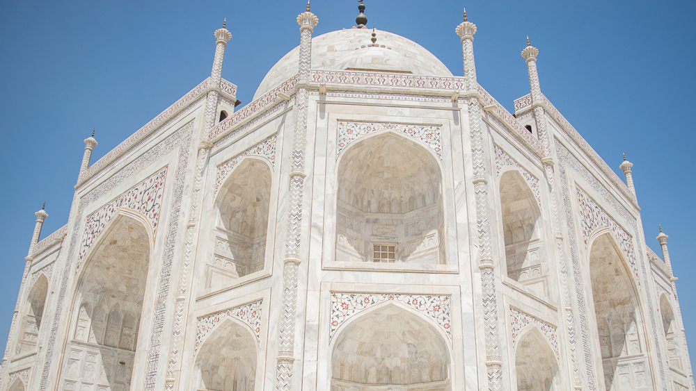 Close up Taj Mahal cropped
