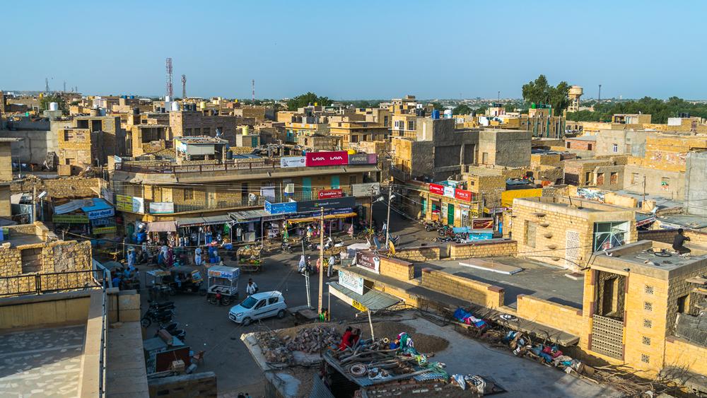 Market Area Jaisalmer cropped