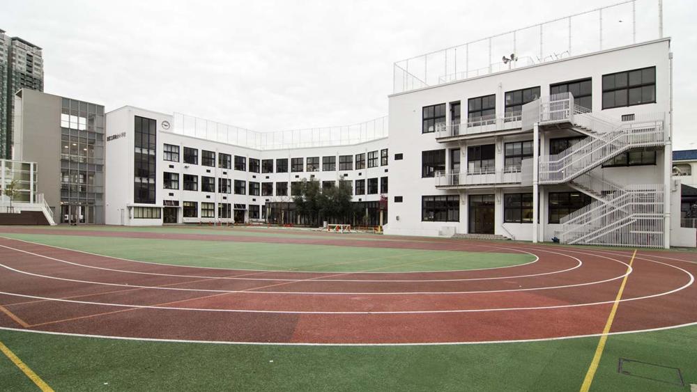 schoolyard by scarletgreen