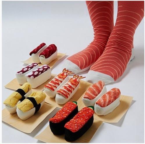 TOM Sushi Socks.BANNER.4