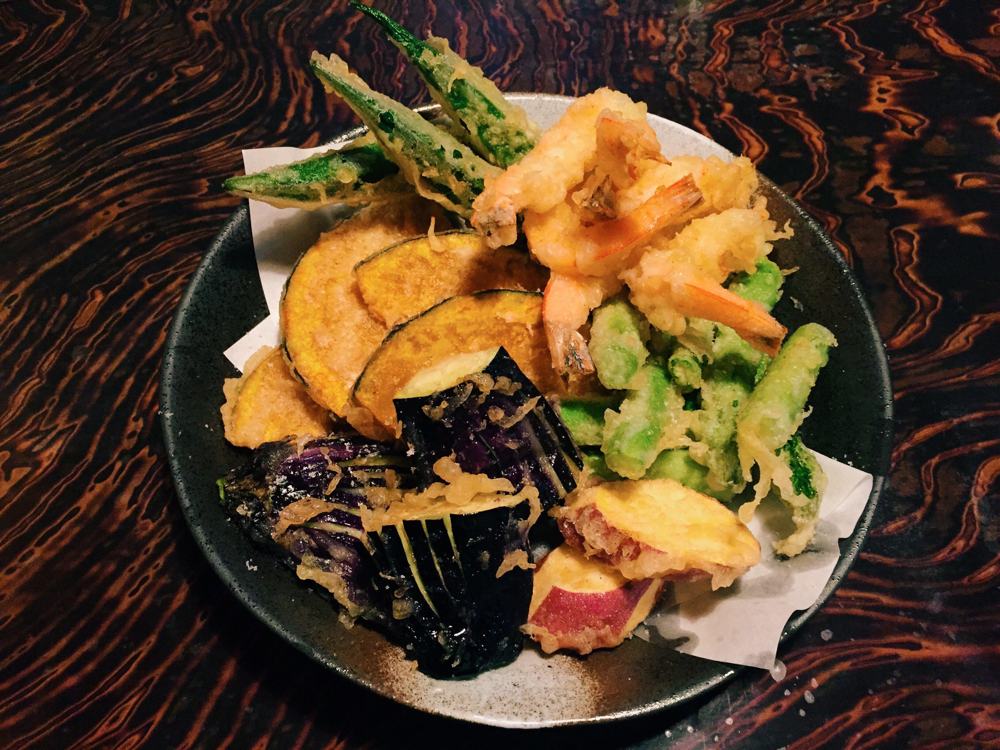 Okra tempura