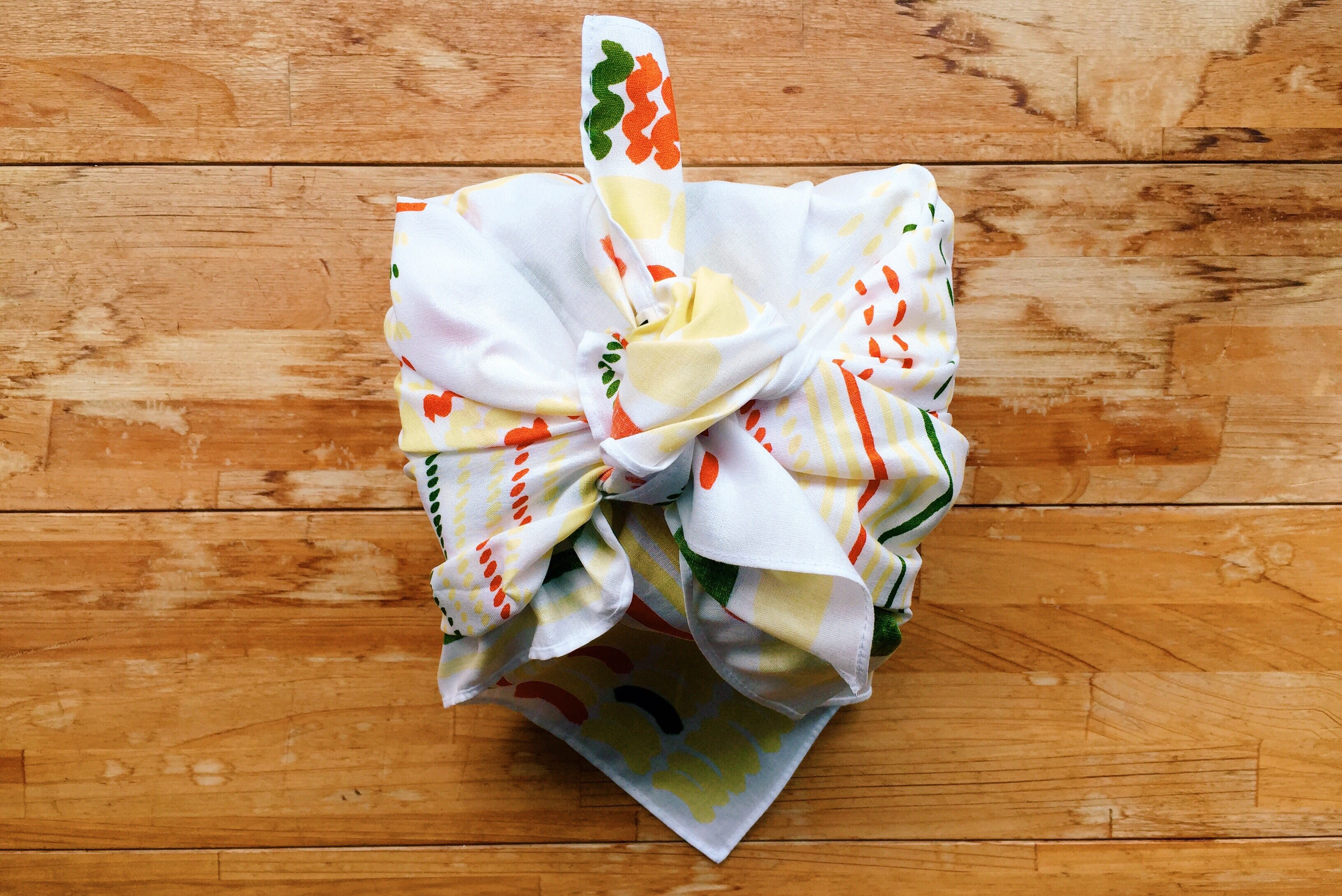 Wrap your bento in a cloth known as a furoshiki