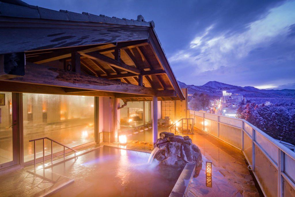Hotel Matsumotoro (Gunma) in Japan, best onsen resorts to visit this autumn in Japan
