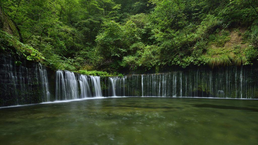 Karuizawa-Shiraito-Waterfall