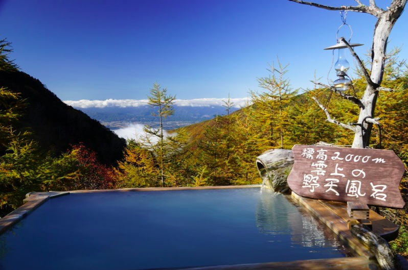 takamine inn, one of the best onsen to visit in autumn in Japan