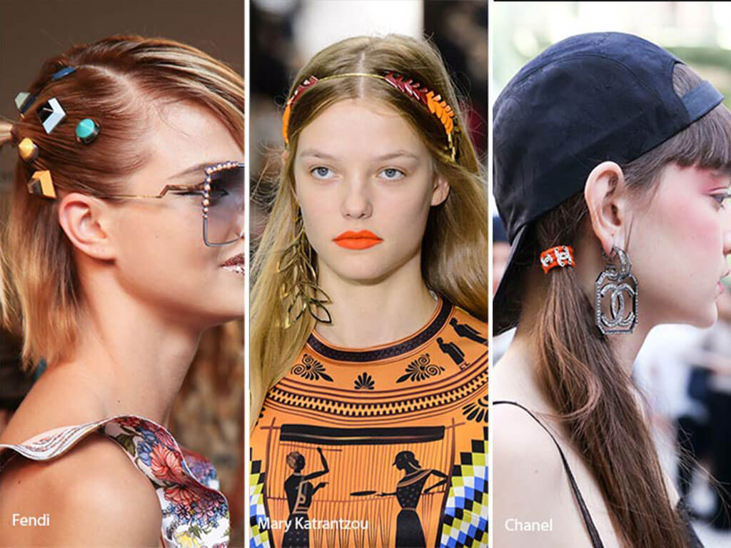 Summer spring hair accessory trends video
