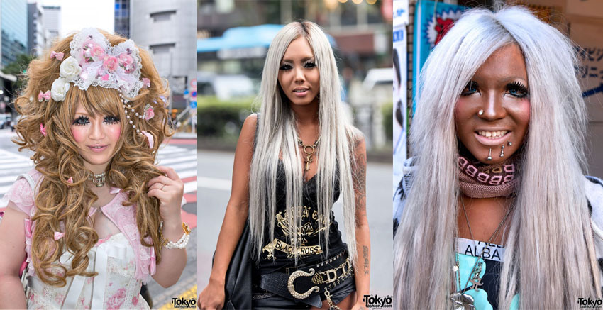 """ce7412fc4b58 Gyaru is a Japanese transliteration of the the English word """"gal."""" The style  goes back to 1970's but did not really peak until 1990's and early 2000."""