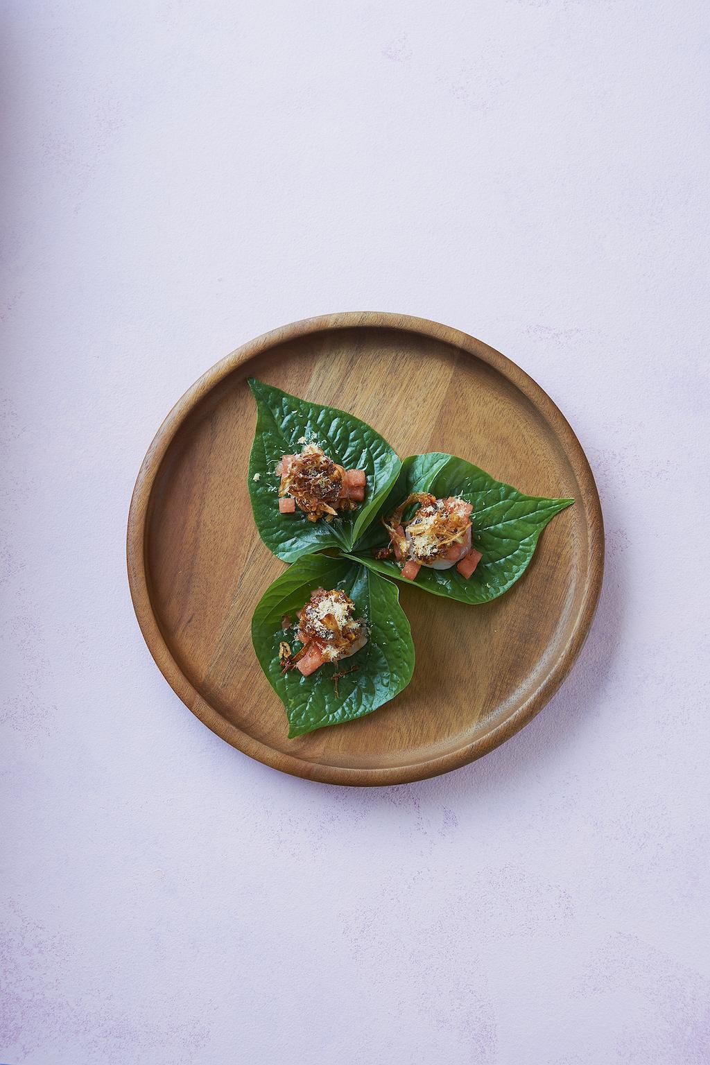 Longrain starter dish