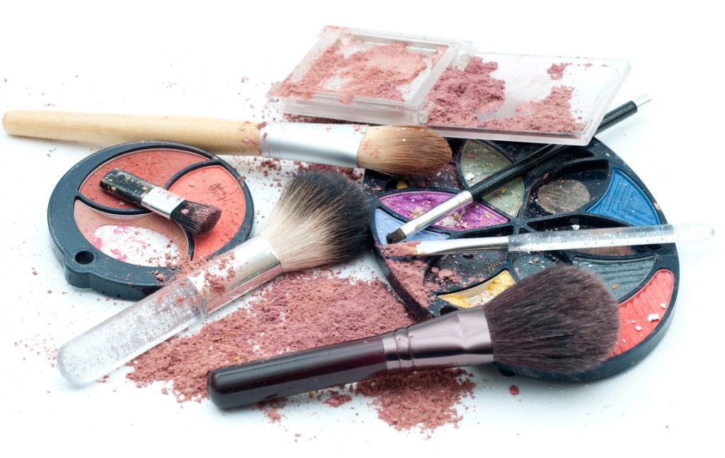 For oosoji, get rid of old makeup