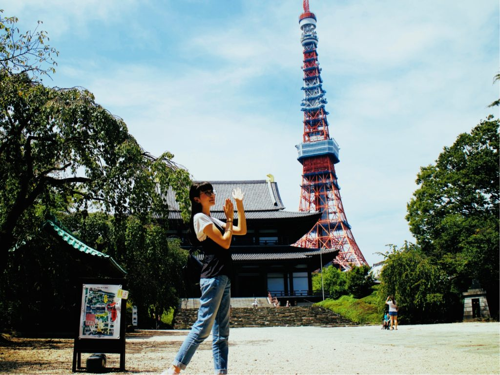 Tokyo Tower with Luggage-Free Travel