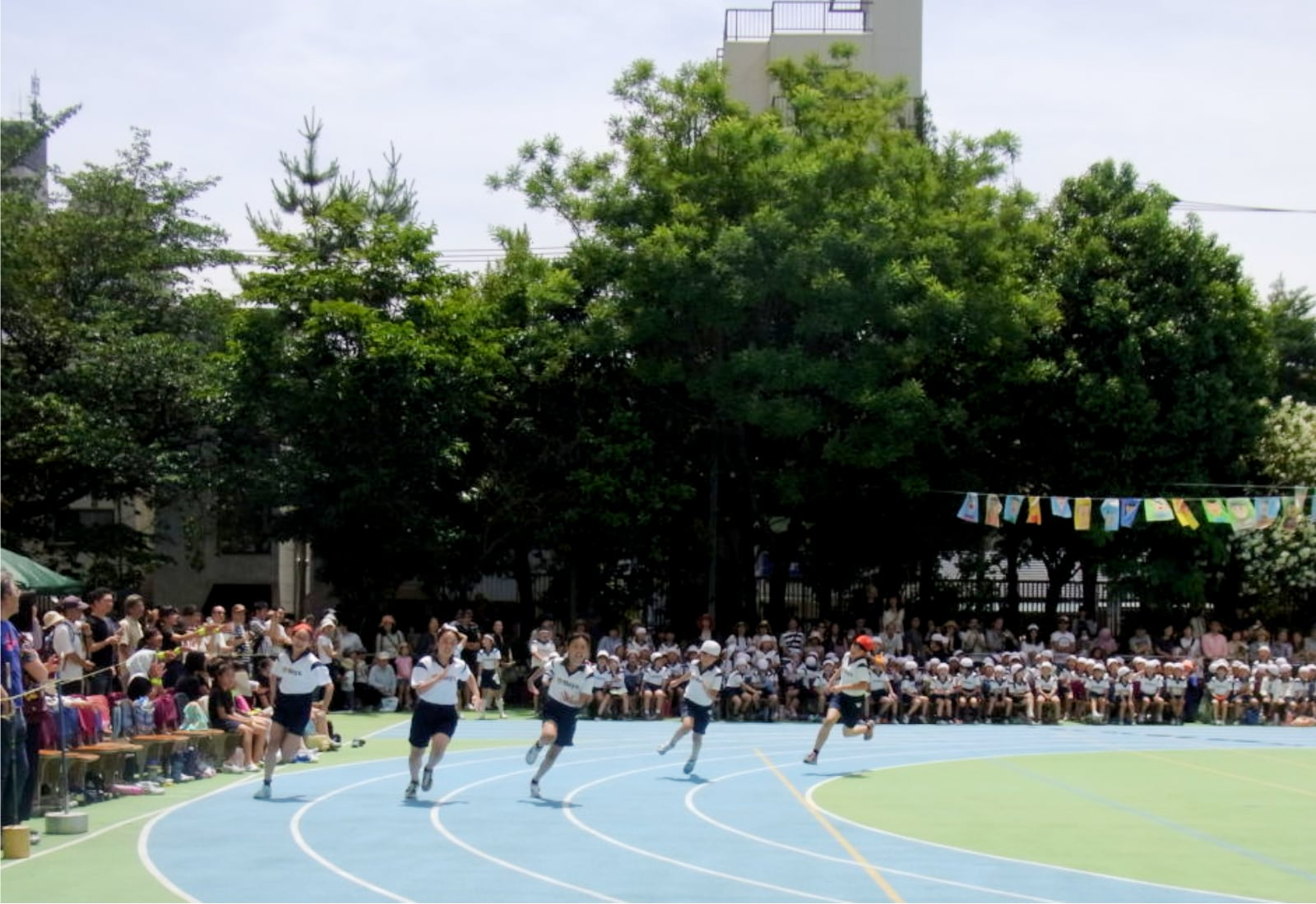 Racing - Undokai - Behind the Scenes of a Japanese Primary School Sports Day