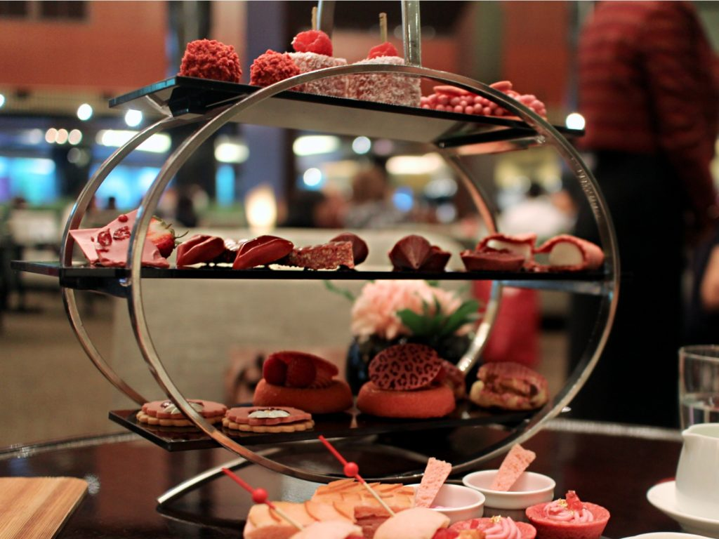 Ruby Chocolate Afternoon Tea full set