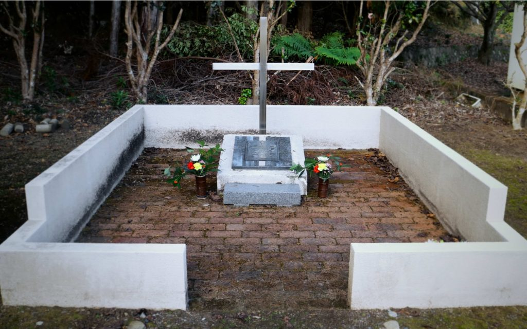 British POW grave along the Kumano Kodo Iseji Route female solo hiking