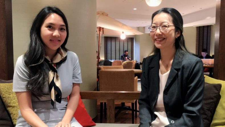Milan and Yumiko of Advisory Group, Tokyo, Japan recruiter for women
