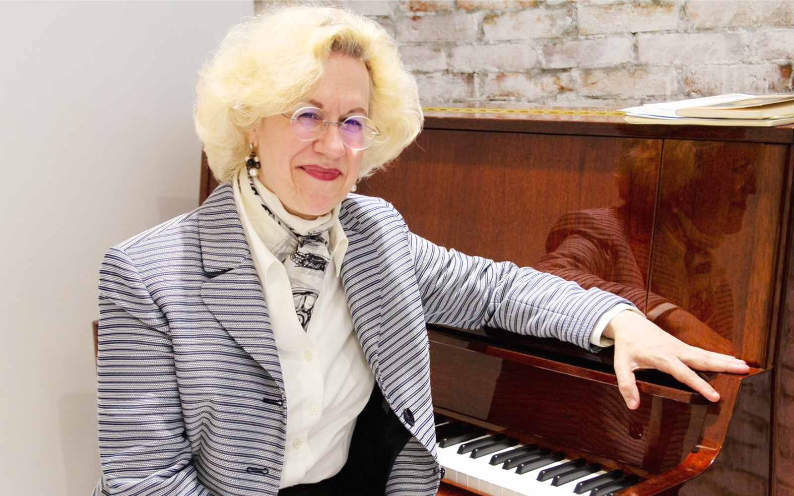 Sara Davis Buechner Being a Concert Pianist- An Interview with Sara Davis Buechner