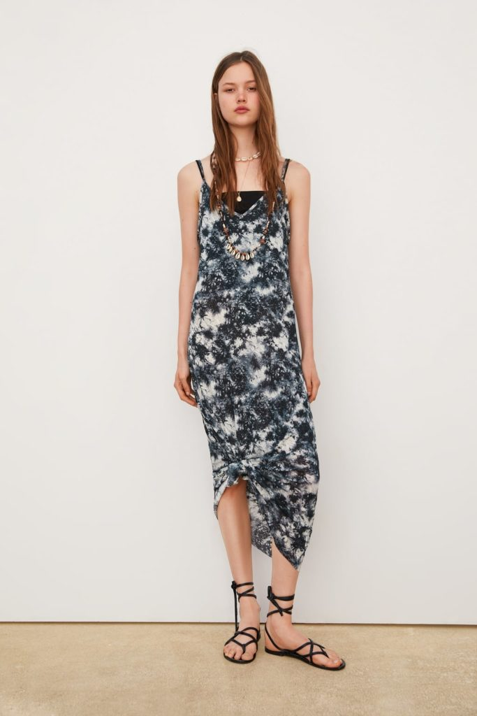 Tie-dye dress from Zara Summer Dress Trends Tokyo