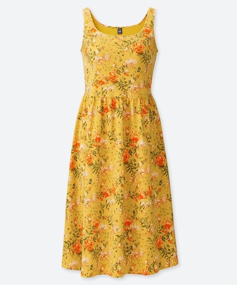 Uniqlo Floral Print Dress by Sanderson 4 Summer Dresses