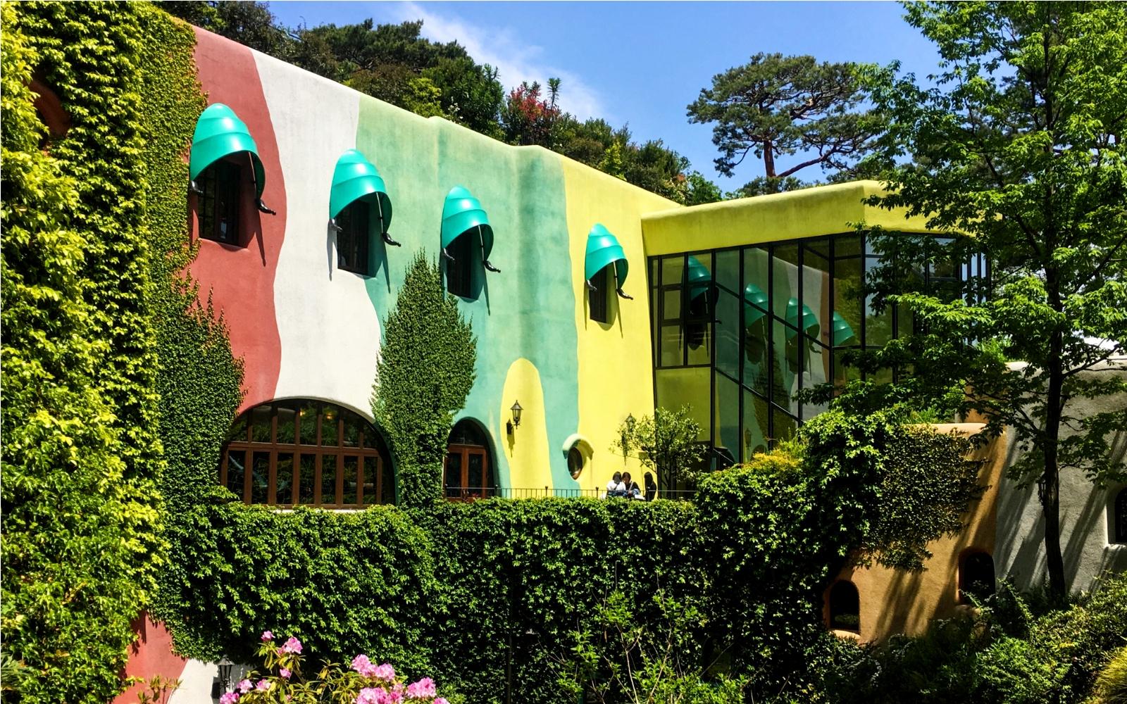 Exterior - Exploring the Studio Ghibli Museum