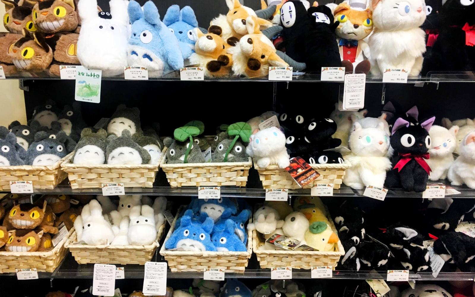 Gift Shop - Exploring the Studio Ghibli Museum