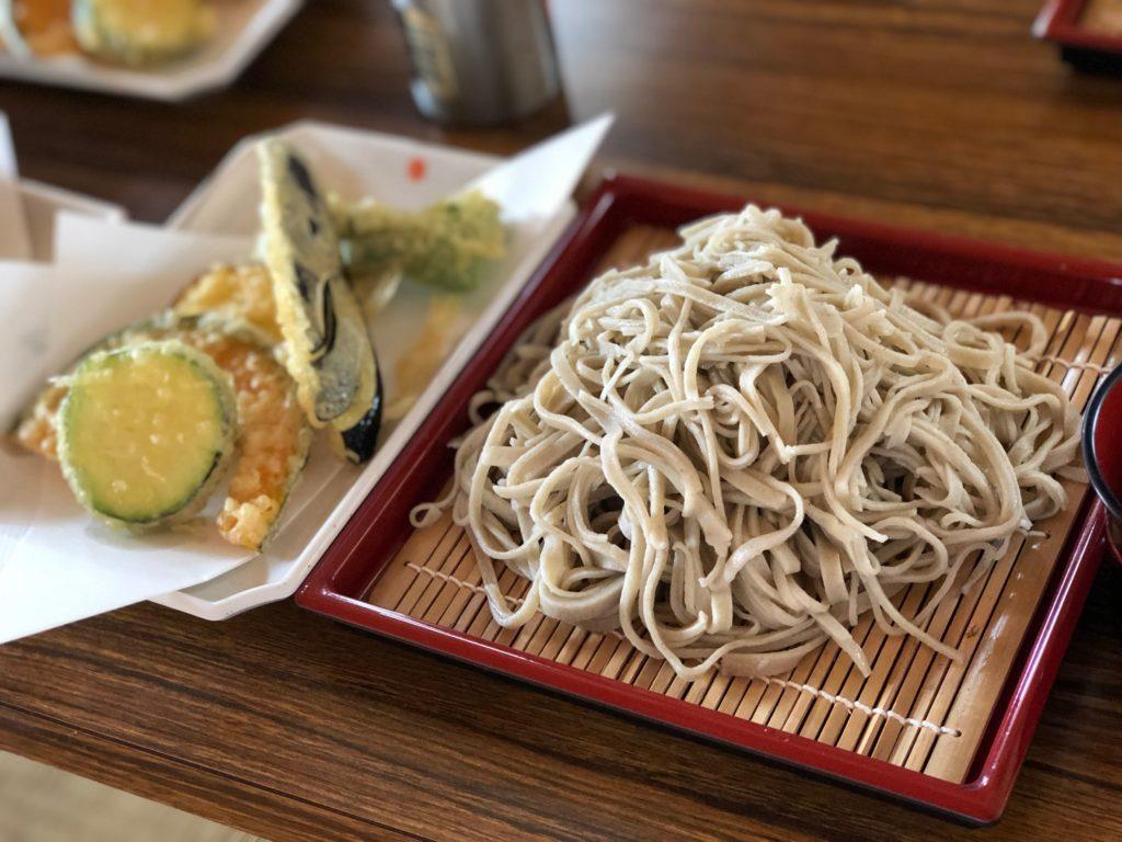 Soba making in Kita Shiga Kogen T Hotel Nagano