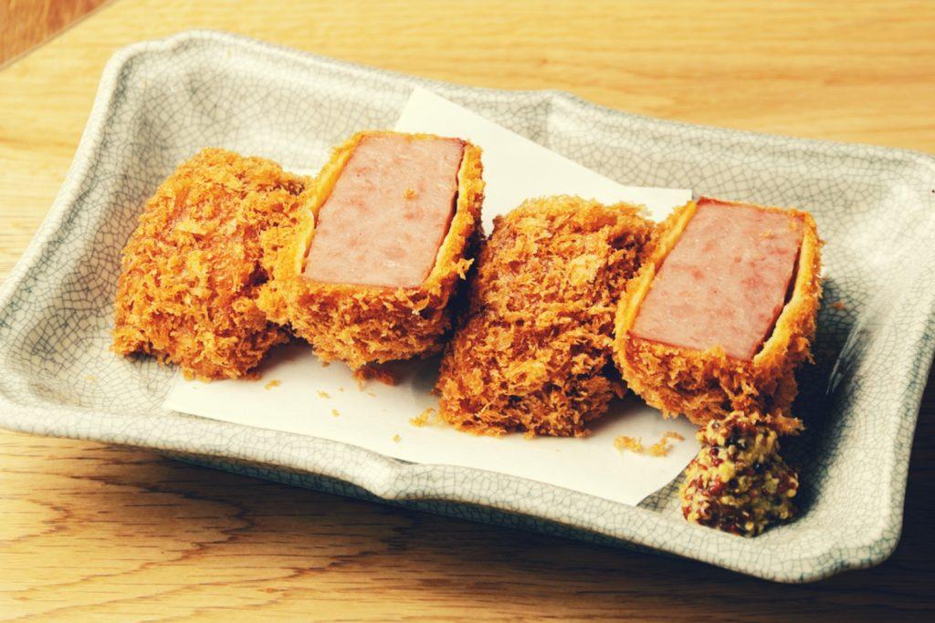 Iyaiya Sanbai Warm Ham Croquette Tokyo