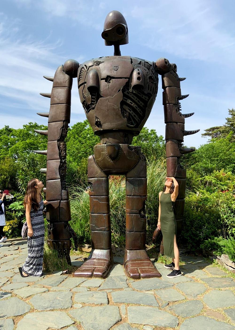 Robot - Exploring the Studio Ghibli Museum