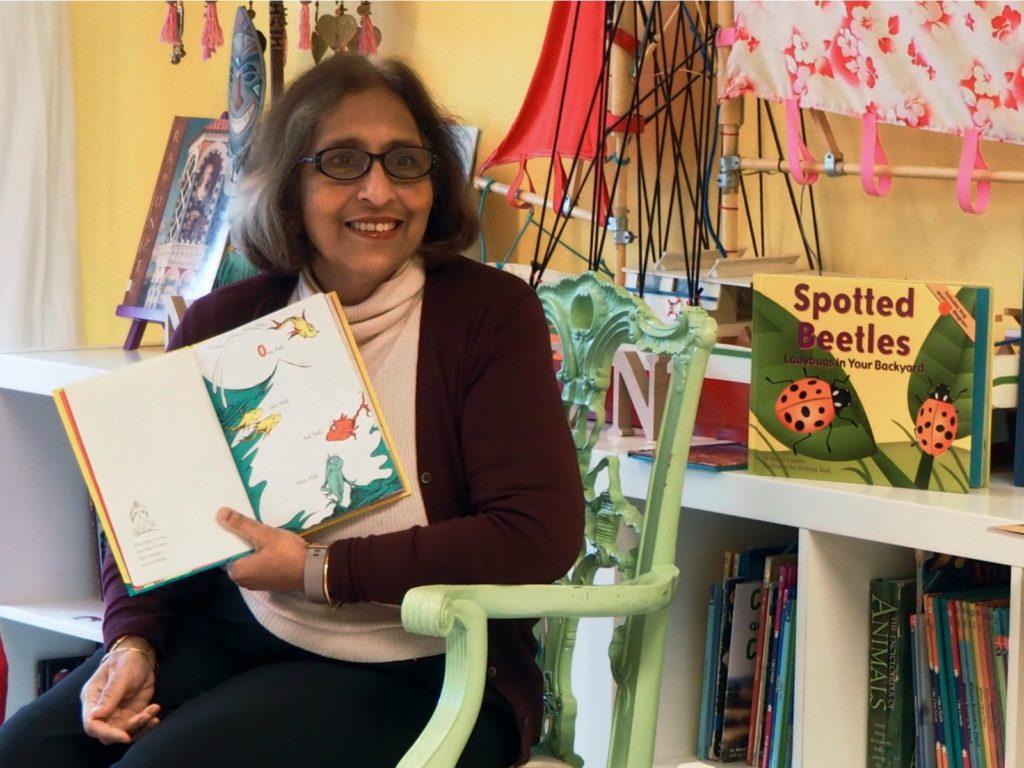 Summerhill Librarian Rita Kar