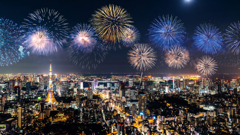 Fireworks Across Japan