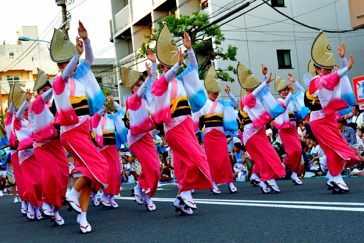 Koenji Awa Dance Festival - Unique Tokyo Matsuris