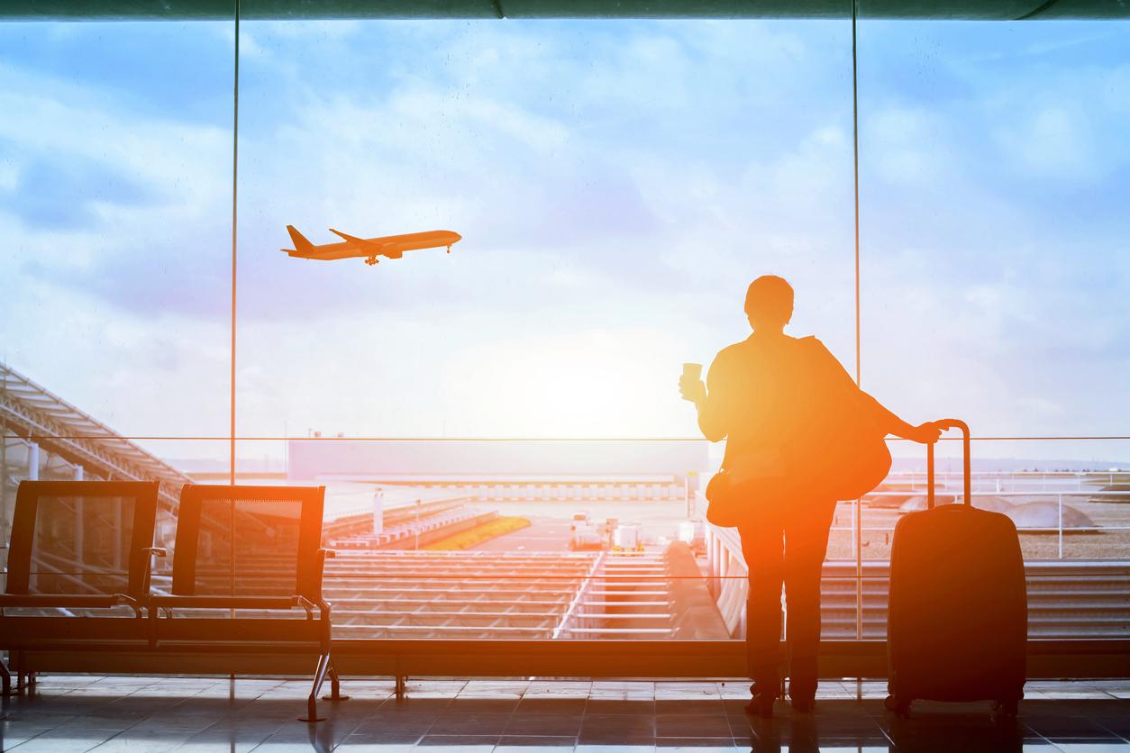 airport - Leaving Japan