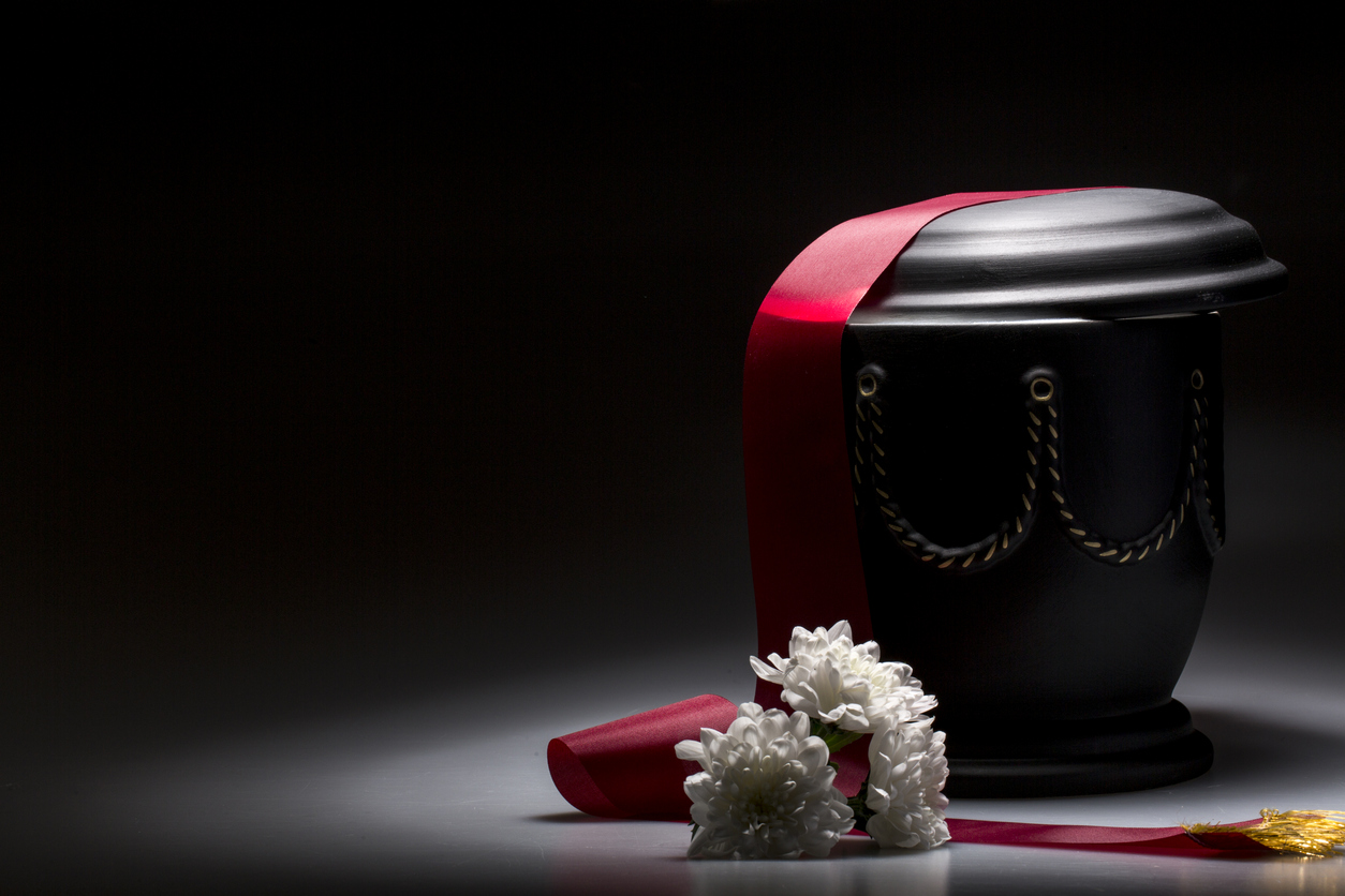 funeral urn - Parting Ways: Funeral Traditions in Japan