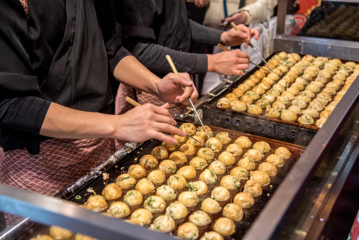 Takoyaki - Unique Tokyo Matsuris