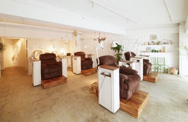 latte. - 50 Beauty Salons in Tokyo