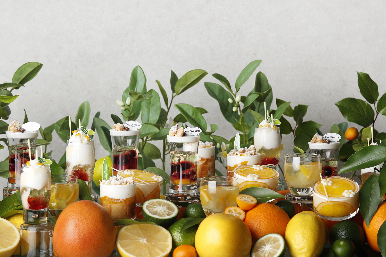 Westin Hotel Citrus Summer Desserts Buffet