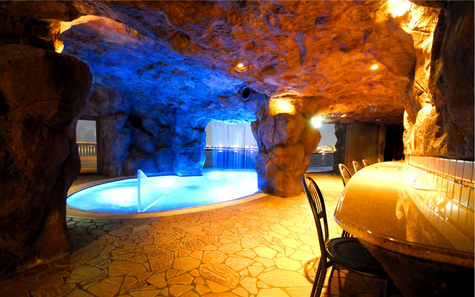 Cave Pool Enoshima Island Spa