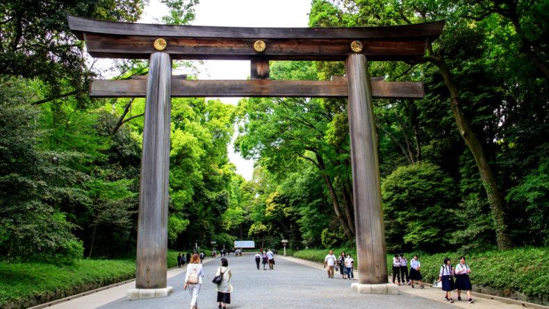 Meiji Jingu Torii - Top 9 Shrines to Visit in Tokyo