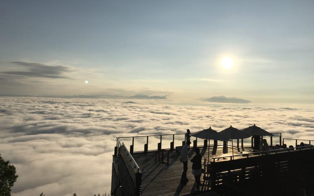 Sea of clouds Sora Terrace Kita Shiga Kogen Nagano