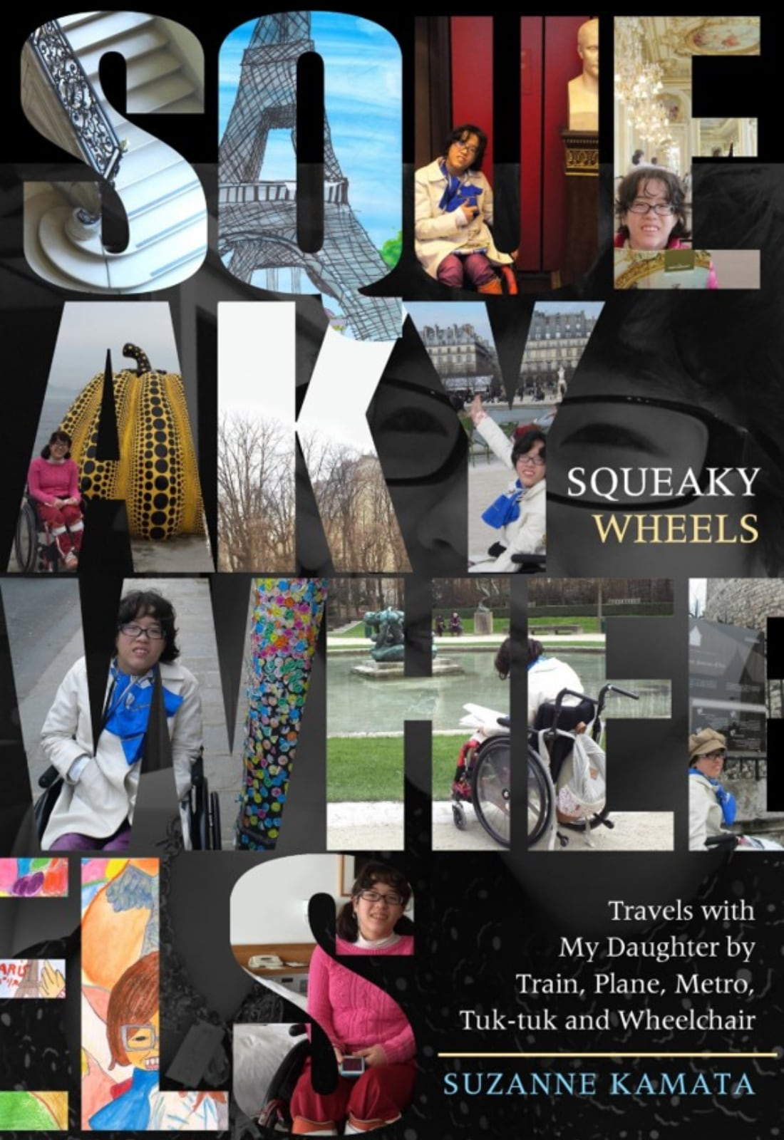 Squeaky Wheels Book Suzanne Kamata on her mother-daughter travel memoir