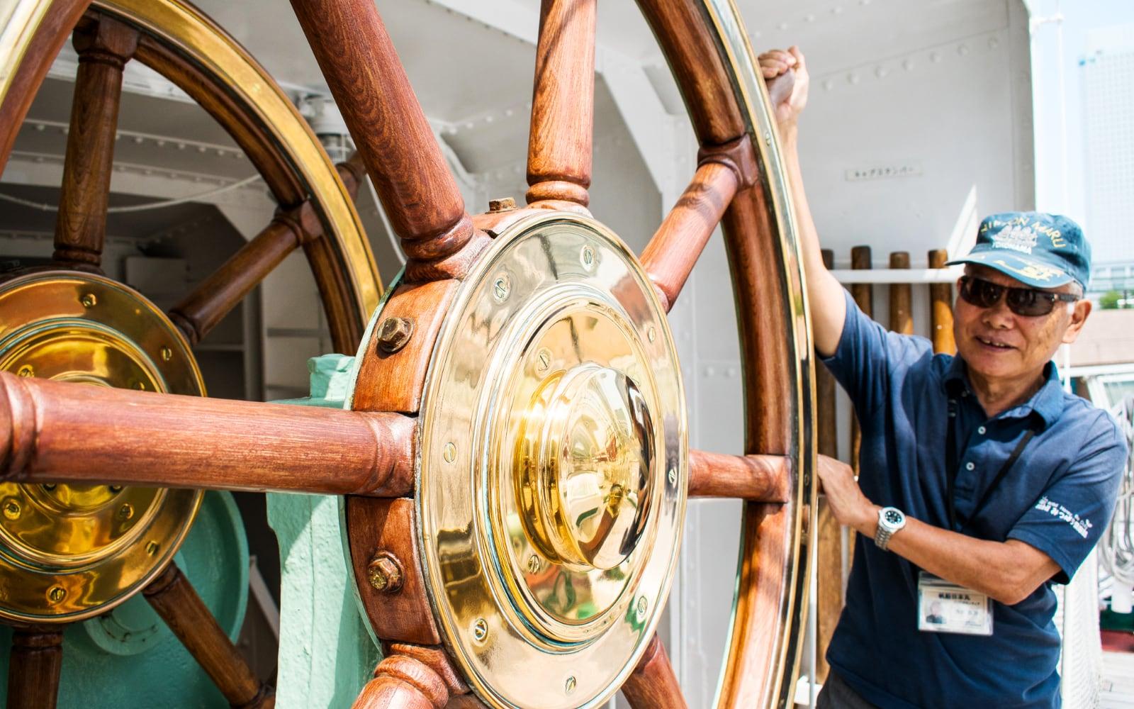 Steering Wheel Yokohama Nippon Maru: A Must Add to your Yokohama Itinerary