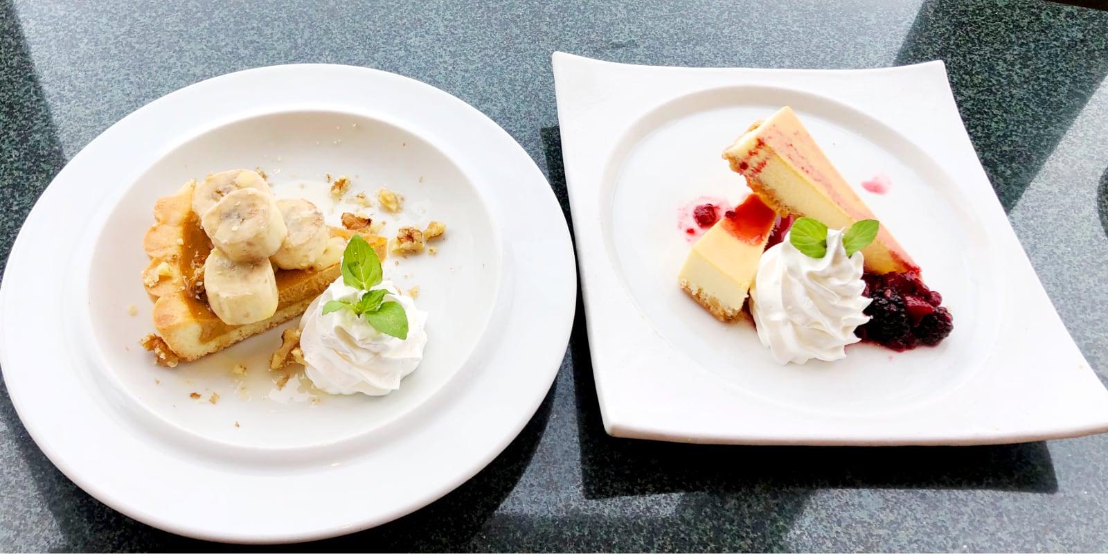 desserts Enoshima Island Spa